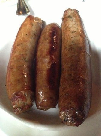 Calabasas, CA: chef's choice homemade game sausages