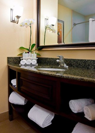 Guest Bathroom Holiday Inn Express Hotel San Diego National City