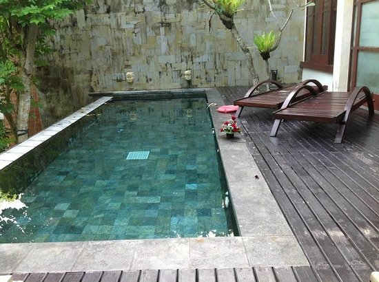 Gending Kedis Villas & Spa Estate: Lovely Private Pool