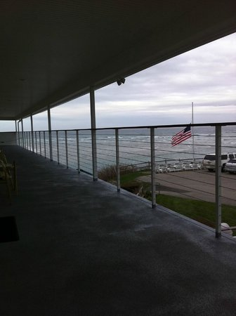 Sea Chambers Motel: View from room 27