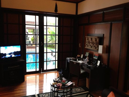 Banyan Tree Phuket: Living Area
