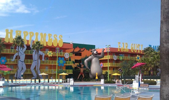 Disney's Pop Century Resort: Our Pool Area