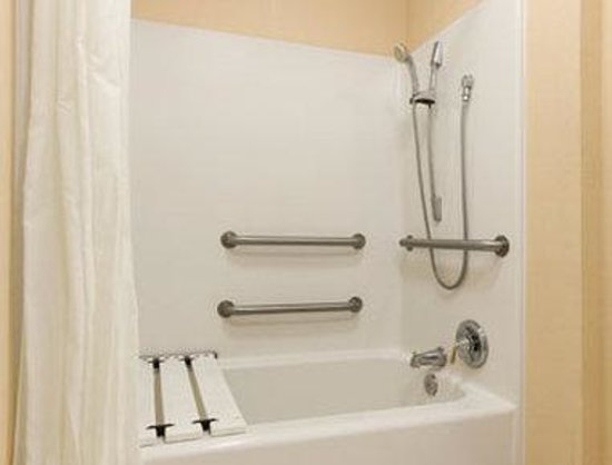 Baymont Inn & Suites Henderson/Oxford: Bathroom