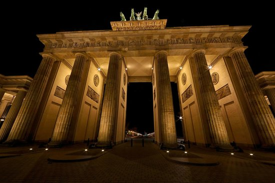 Berlin Marriott Hotel: Brandenburg Gate