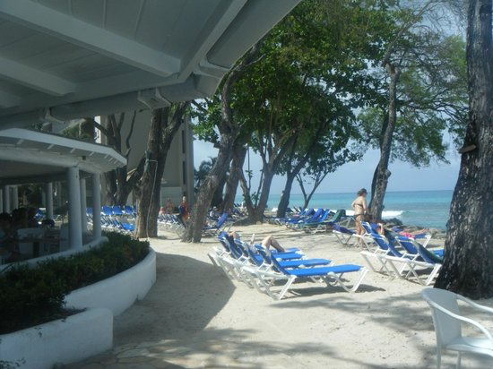 The Club, Barbados Resort and Spa: The beach
