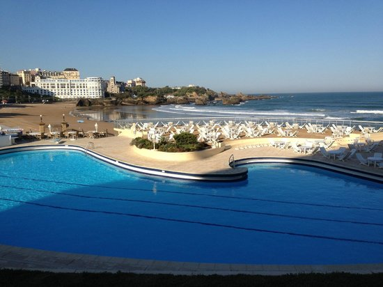 Hotel du Palais, Biarritz, swimming pool