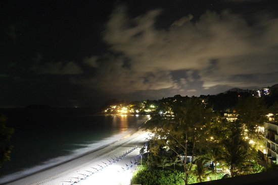 The Shore at Katathani: Night time view across the bay