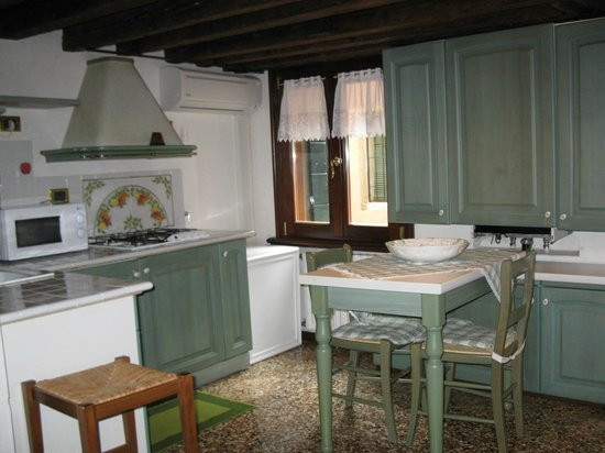 Hotel Al Piave: Kitchenette