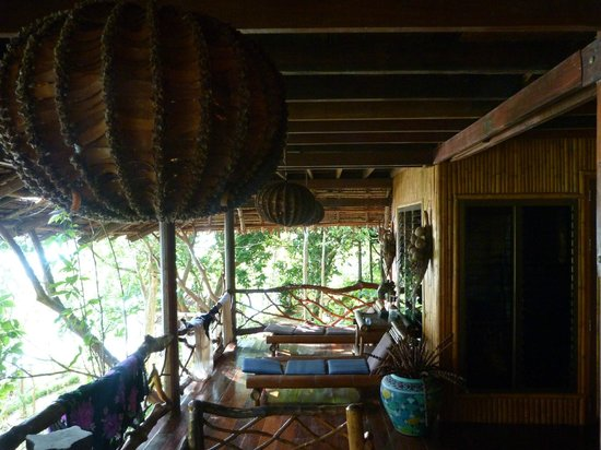 Viking Natures Resort: Veranda