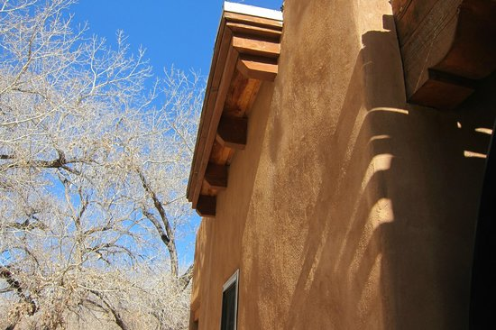Abiquiu, NM: Love those SW shadows on the adobe