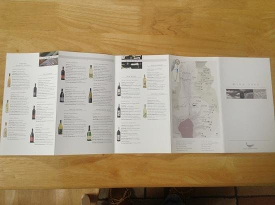 Golan Heights : Wine List 1 