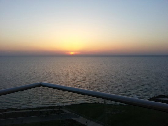 Ramada Netyana: nothing like watching the sunset from your room...