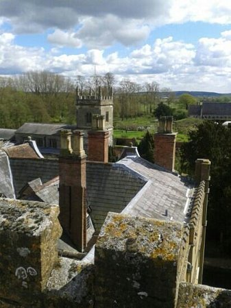 Alcester, UK: view from tower