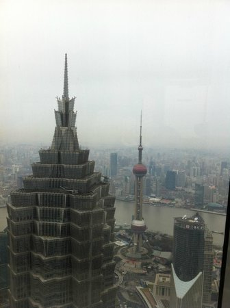 Park Hyatt Shanghai: Vue depuis le Lobby