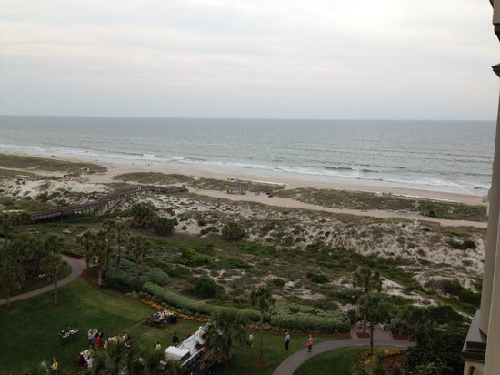 The Ritz-Carlton - Amelia Island: View from the balcony at The Ritz Carlton Amelia Island