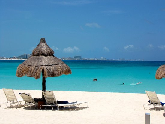 Club Med Cancun Yucatan: Does a beach get nicer than THIS?!