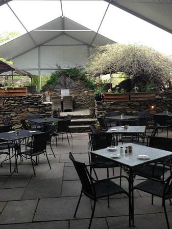 Chadds Ford, PA: Outdoor patio