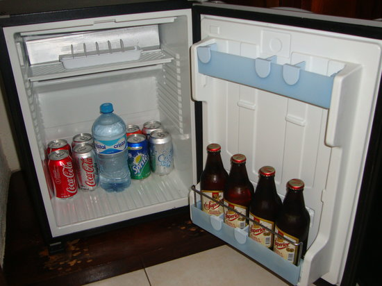 BlueBay Grand Esmeralda: Stocked fridge everyday