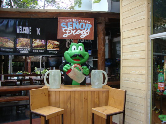 BlueBay Grand Esmeralda: Senor Frogs