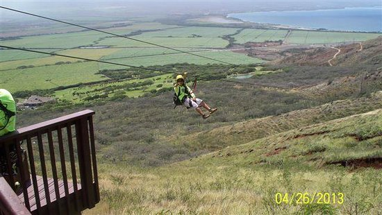 Wailuku, : Last zipline