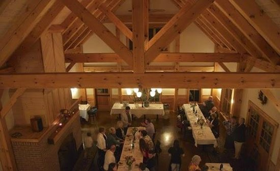 Woodstock, VT: Cloudland Farm dinner facility