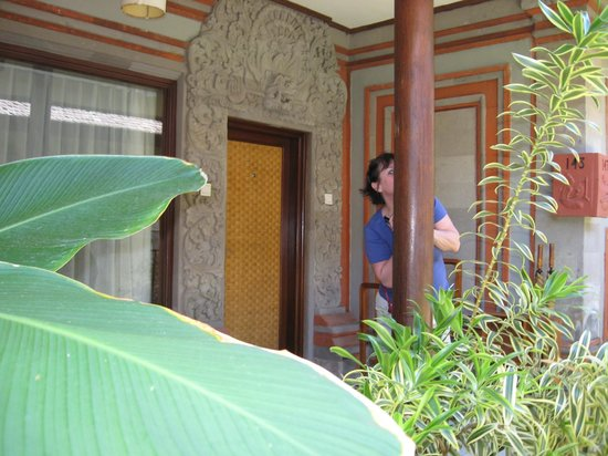 Kuta Seaview Boutique Resort &amp; Spa : Front of Room 