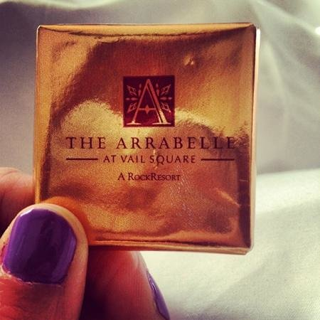 Arrabelle at Vail Square, A RockResort: turndown service