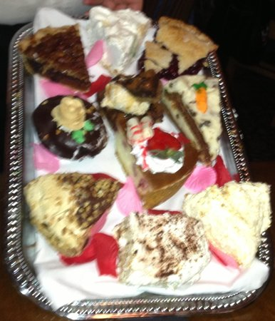 Mercer, Pensylwania: Dessert tray