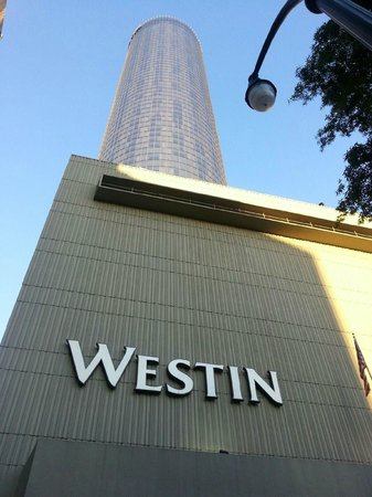 The Westin Peachtree Plaza: The hotel itself