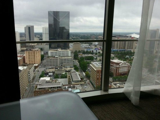 The Westin Peachtree Plaza: The view