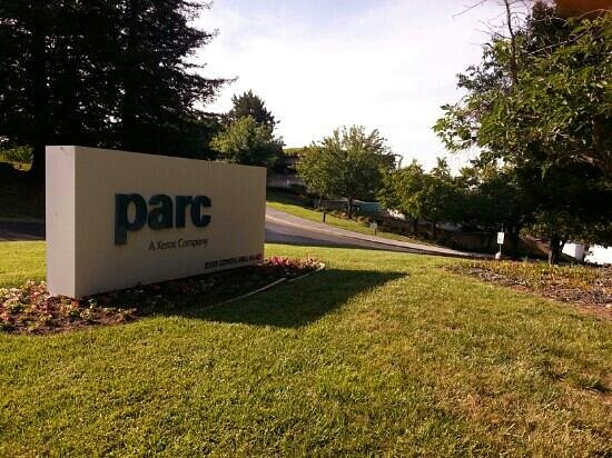 Palo Alto, Kalifornien: PARC Coyote Hill Road entry