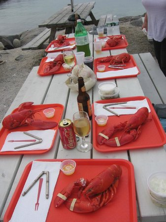 Monhegan, ME: Lobster