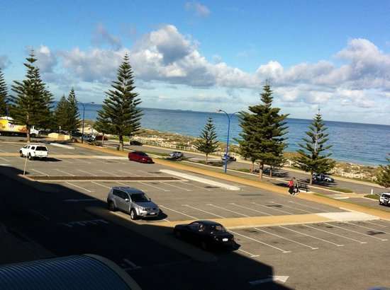 Scarborough, Australia: View from balcony