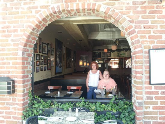Balboa Island, CA: Celebrating at Ciao