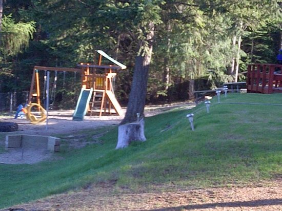Colville, WA: Playground for kids.