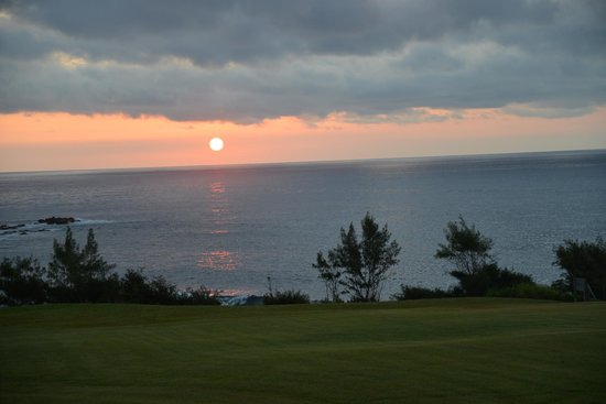 Travaasa Hotel Hana: Good Morning Sunrise!!