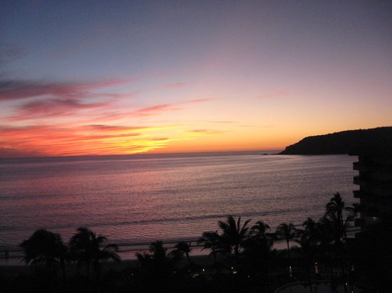 The Inn at Mazatlan: The sunset