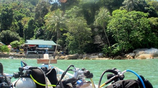 Turtle Bay Divers Pulau Perhentian Turtle Bay Divers View of