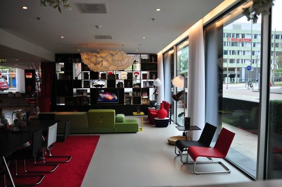 citizenM Amsterdam City: lounge