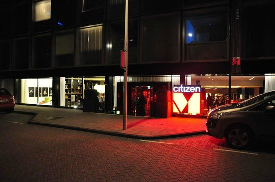 citizenM Amsterdam City: Out