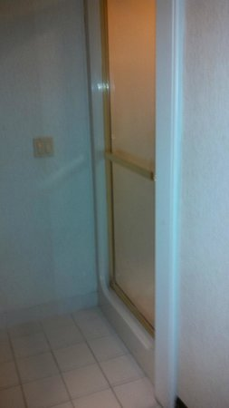 Sleep Inn North: Shower Door