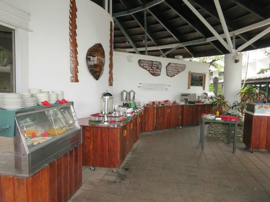 The Melanesian Port Vila: Breakfast buffet