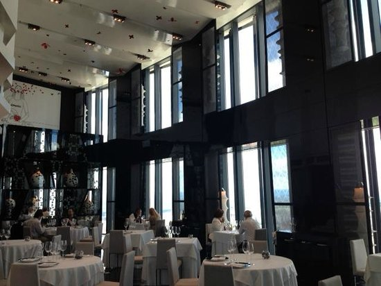 Eurostars Madrid Tower: 30th floor Restaurant