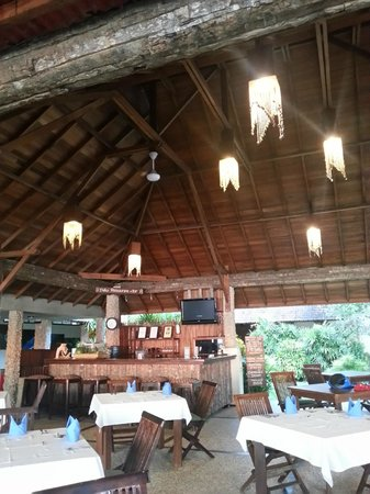 Wori, Indonesia: Dining area