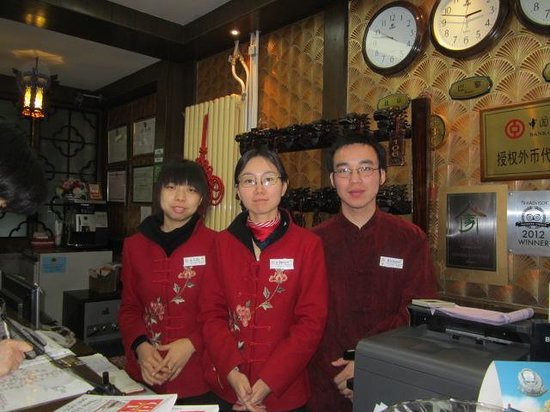 Double Happiness Courtyard Hotel: The friendly staff