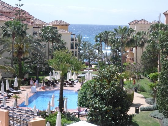 Marriott's Marbella Beach Resort: view from balcony