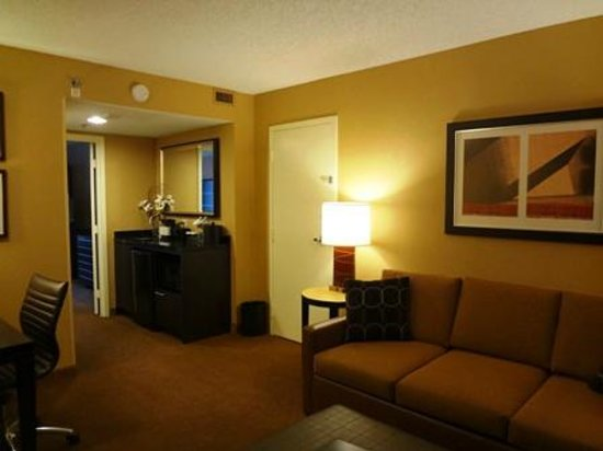 Embassy Suites Hotel Chicago Downtown: Living