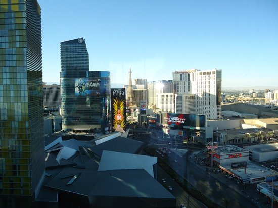 Mandarin Oriental, Las Vegas: View from Bar