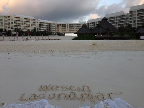 The Westin Lagunamar Ocean Resort: Easter Morning 2013