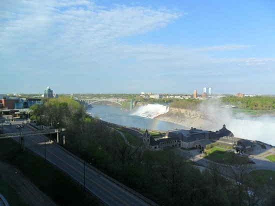 Marriott Niagara Falls Fallsview Hotel & Spa: View from room 926